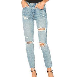 Petite GRLFRND Karolina Jeans